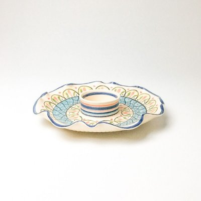 Petisqueira em Cerâmica Talavera