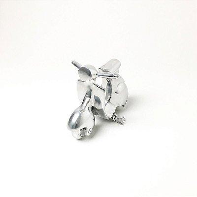 Vespa em Alumínio