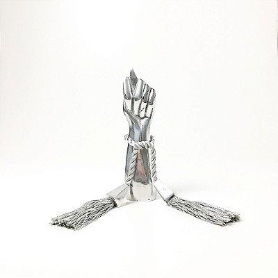 Escultura Figa em Alumínio