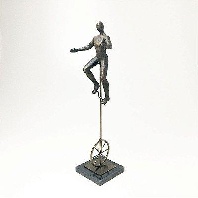 Escultura em Resina Monociclo