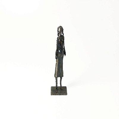 Escultura Justiça em Ferro - Pedro Miranda