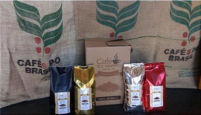 6KG---CAFÉ TORRADO EM GRÃOS 100% ARÁBICA DURO--- SUL MINEIRO