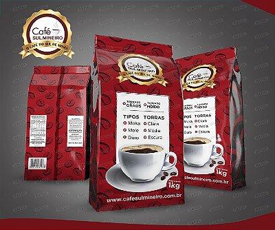 CAFÉ TORRADO E MOIDO ---SUL MINEIRO---1KG