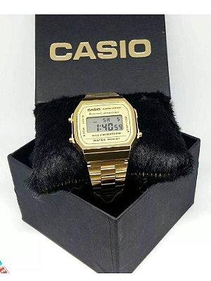 Kit 05 Relógios Casio Retro Unissex Com Caixinhas