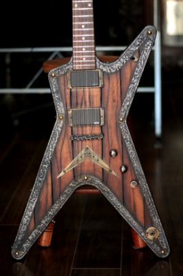 Guitarra Dean ML Nordic Hot Custom Machine ( Emg 81-60) USA