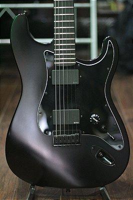 Guitarra Fender Jim Root flat black Satin Signature (USA)
