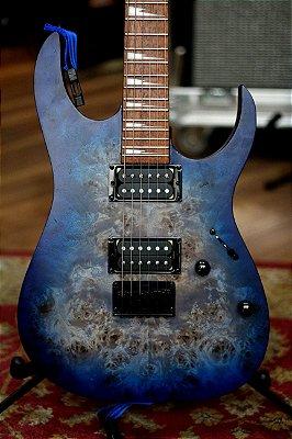 Guitarra Ibanez Rgrt621dpb Blue Lagoon Burst Flat
