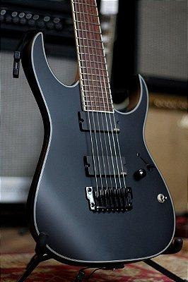 Guitarra Ibanez Iron Label Rgir37bfe Black Flat Bkf