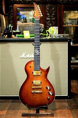 Guitarra Solar Gc1.6t-fab Flame Amber Burst -------- R$ 8.999,00