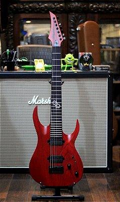 Guitarra Solar A2.7tbr Trans Blood Red Matte 7cordas ------- R$ 8199,00
