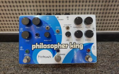 (Semi Novo) Pedal Pigtronix Philosopher King - Multi-efeito ( USA ) --------- R$ 1.999,00