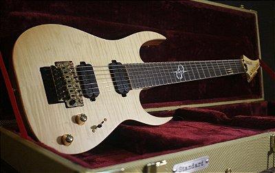 Guitarra Solar Sb1.7frfm Flame Natural Matte + Hardcase --------- R$ 11.989,00
