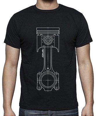 Camiseta Pistão (preta)
