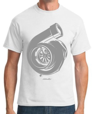 Camiseta Turbo (branca)