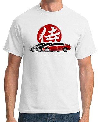 Camiseta Civic SI Samurai (branca)