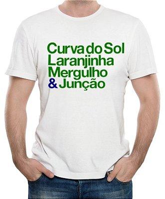 Camiseta Curvas de Interlagos (branca)