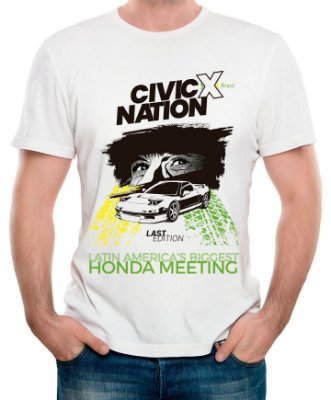 Camiseta Oficial | Civic Nation Last Edition (Pré-Venda)