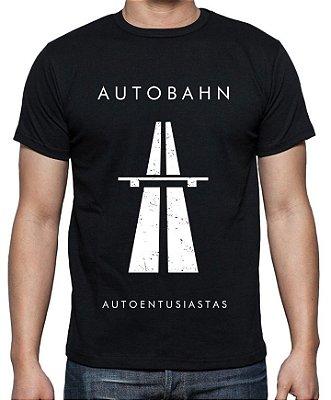 Camiseta Autobahn (Preta) | AUTOentusiastas