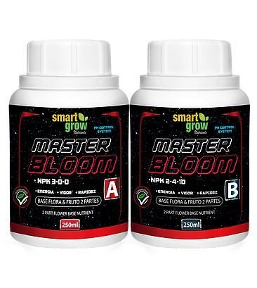 FERTILIZANTE SMART GROW MASTER BLOOM PARTE B 250ML