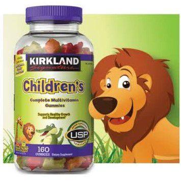Multivitamínico Kirkland Children's 160 Gomas