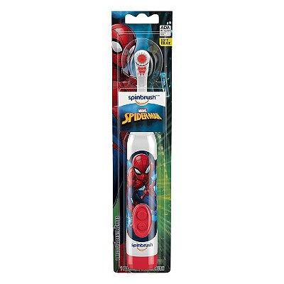 Escova e Dente Elétrica Homem Aranha