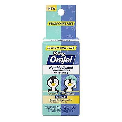 Orajel Baby (Dia e Noite) Alívio da Dor da Dentição