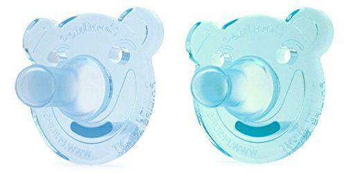 Chupeta Soothie Bear Philips Avent Kit 2 Peças Azul/Verde 3M+