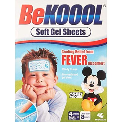 Gel Adesivo Bekool Para Combate à Febre e Dor De Vacinas