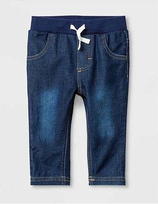 Calça Cat & Jack Jeans Escuro Baby Masculino