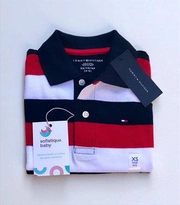 Camiseta Gola Polo Tommy Hilfiger Listrada