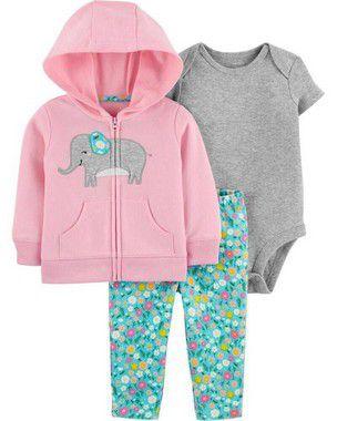 Trio Capuz Elefante Feminino