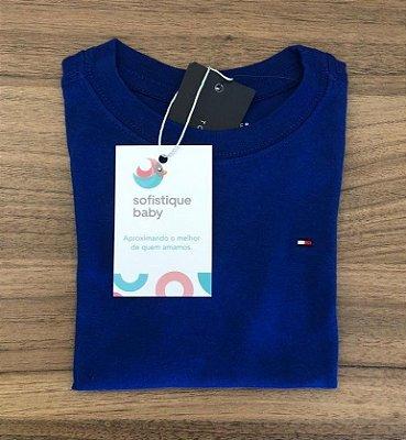 Camiseta Básica Tommy Hilfiger Azul