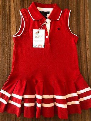Vestido Vermelho Tommy Hilfiger