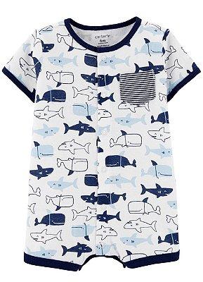 Romper Tubarão Masculino