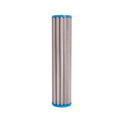 "Refil Plissado em aço Inox 9 3/4"" x 2 ½ (10"")"