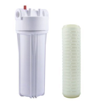 "Filtro Snic Com Refil Microbiológico 9 3/4"" x 2 ½ (10"")"