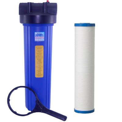 """Filtro Com Refil Polipropileno Aqualar AP810/AP811 3M 20"""" Big Blue"""