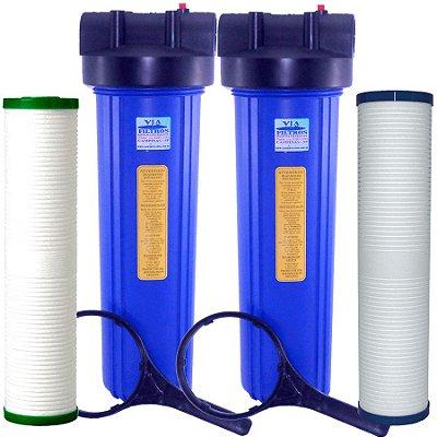 Dual Filter - A Combinação Perfeita - Com Acessórios