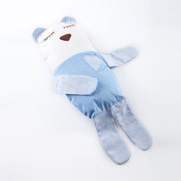 Naninha Travesseiro Bebê Azul