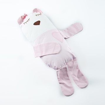 Naninha Travesseiro Bebê Rosa