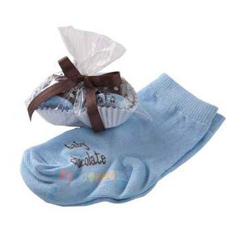 Doce Meia Bebê Azul