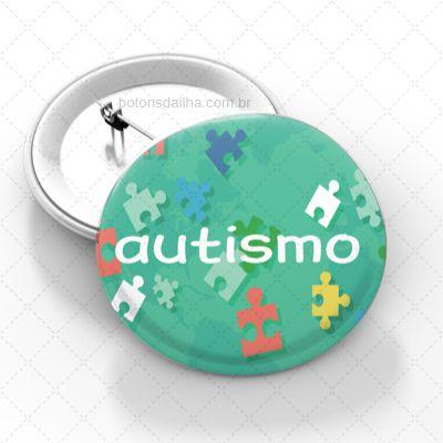 Boton Autismo - Modelo 33