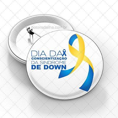 Boton Dia Internacional da Síndrome de Down - Modelo 01