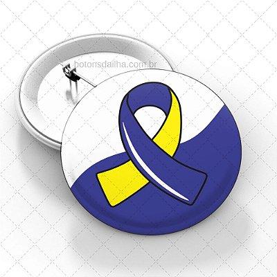 Boton Dia Internacional da Síndrome de Down - Modelo 04