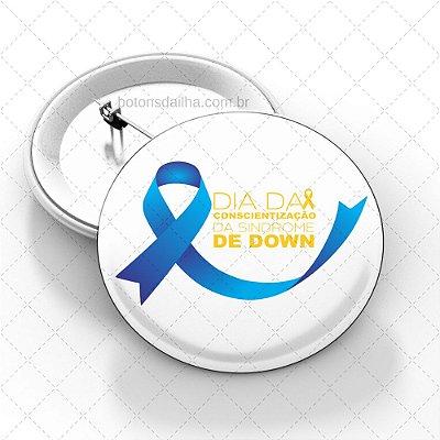 Boton Dia Internacional da Síndrome de Down - Modelo 06