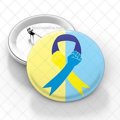 Boton Dia Internacional da Síndrome de Down - Modelo 07