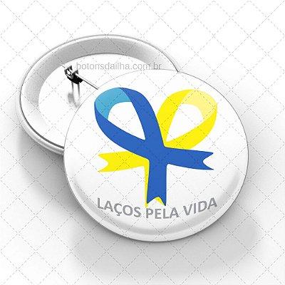 Boton Dia Internacional da Síndrome de Down - Modelo 11