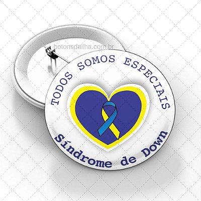 Boton Dia Internacional da Síndrome de Down - Modelo 13