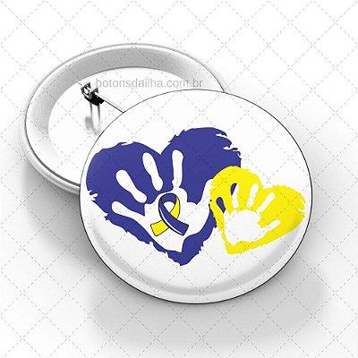 Boton Dia Internacional da Síndrome de Down - Modelo 15
