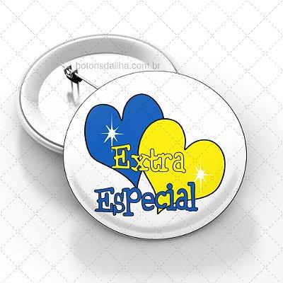 Boton Dia Internacional da Síndrome de Down - Modelo 17